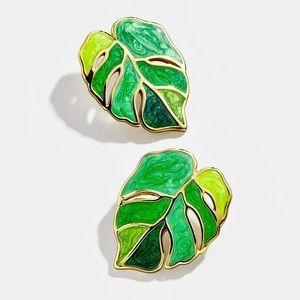 🍋2/$30 New BaubleBar Frond Stud Earrings